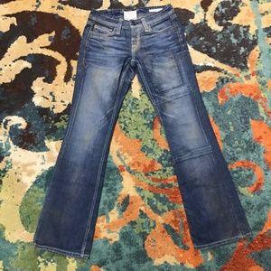 "Taverniti So jeans ""Patti"" stitchwork boot cut"